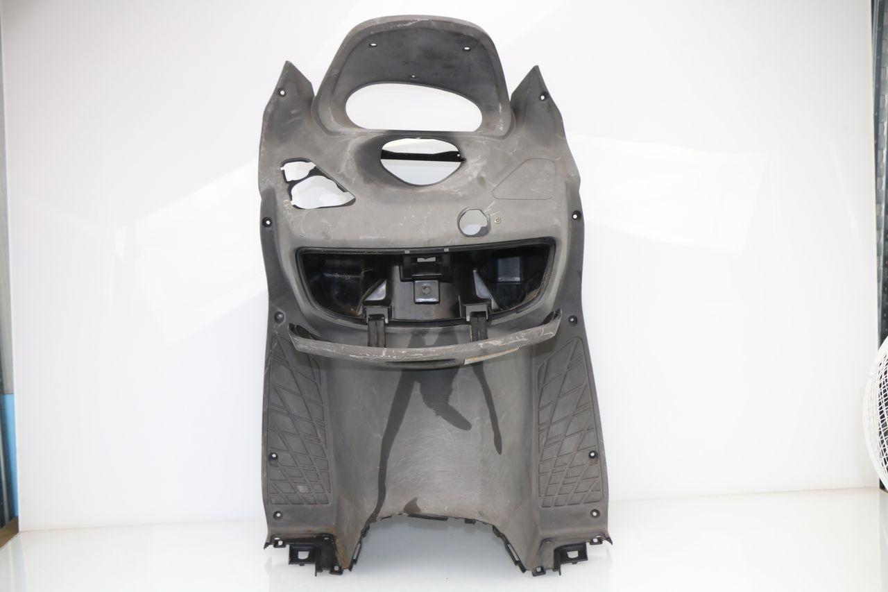 Compatible avec Suzuki Burgman 125 ABS 2015 15 Tablier Etanche OJ JFL-TG Couverture Thermique pour Scooter avec Doublure DOUBL/ÉE ET Cheveux SYNTH/ÉTIQUES Pro Leg Noir